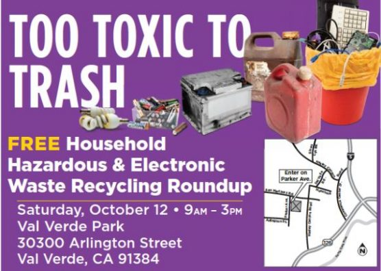 hazardous waste recycling roundup val verde