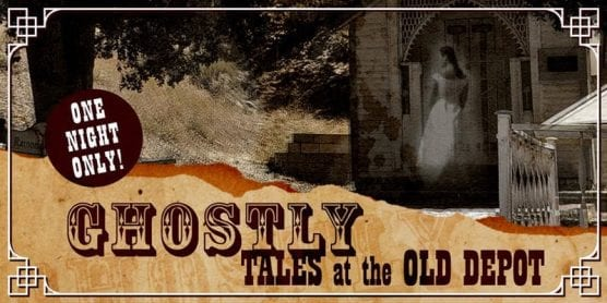 Ghostly Tales at the Old Depot