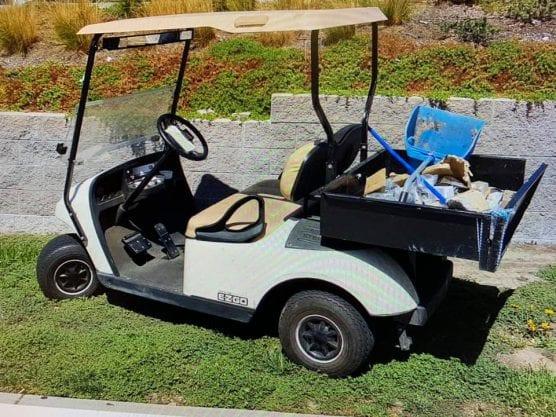 golf cart theft