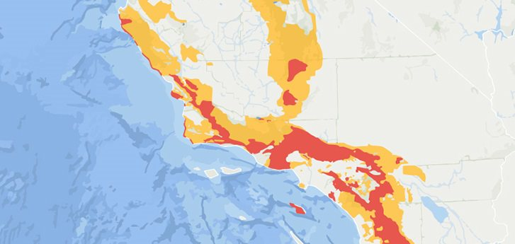Sce Power Outage Map SCV News | SCE Monitoring Santa Ana Wind, May Cut Power in SCV