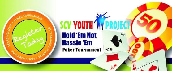 scv youth project hold 'em not hassle 'em poker tournament