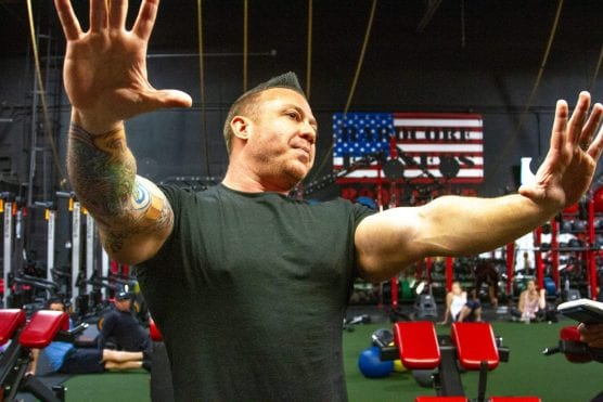 Larry Nolan, founder of Hardcore Fitness, began personal training at age 16. | Photo: Austin Dave / The Signal.