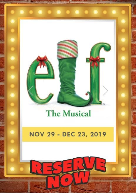 elf the musical at canyon theatre guild