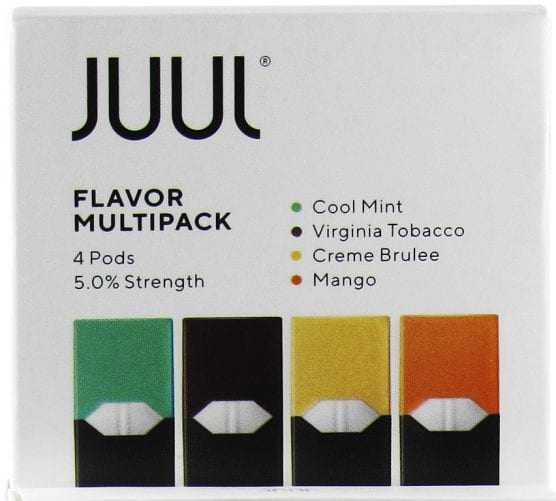 A flavor multipack for the Juul vaping device. | Photo: Vaporvanity.com/WMC 2.0.