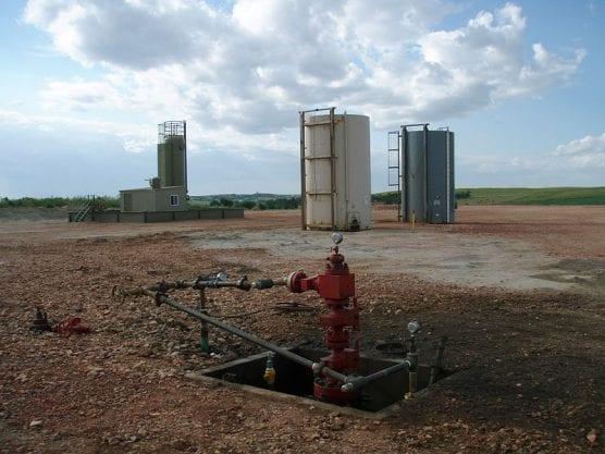 A wellhead after all the fracking equipment has been taken off location. | Photo: Joshua Doubek/WMC 3.0.