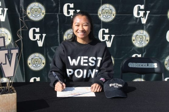 Golden Valley's Justine Dondonay signed her National Letter of Intent to play at the United States Military Academy at West Point on Thursday. | Photo: Courtesy Golden Valley Athletics.