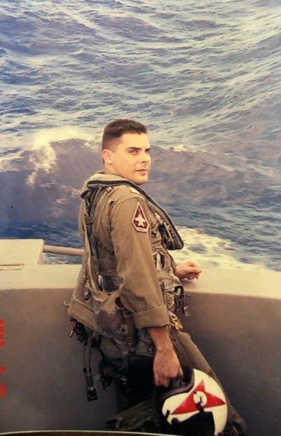 military - pilot Mike Garcia