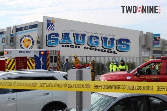 Saugus High School, Nov. 14, 2019. | Photo: Two8Nine Media.