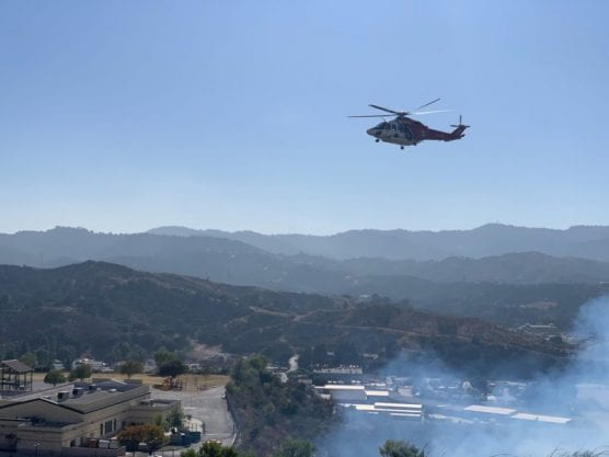 placerita canyon fire