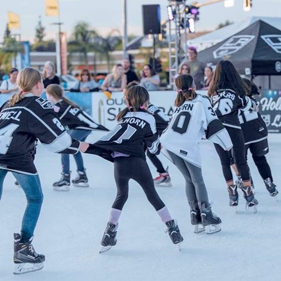 LA Kings Town Center Ice Skating Rink