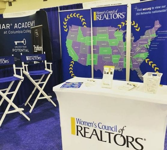 women's council of realtors booth