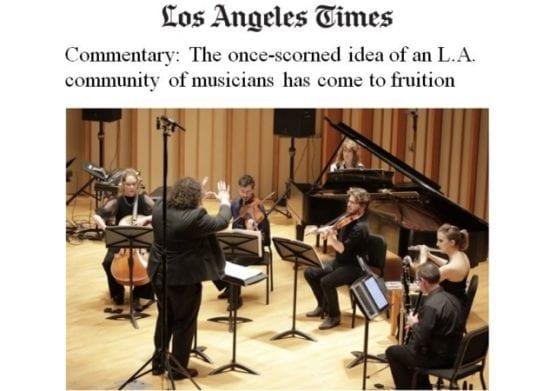 music scene - The Los Angeles Times spotlights notable CalArtians in the LA music scene. | Image: CalArts screenshot.