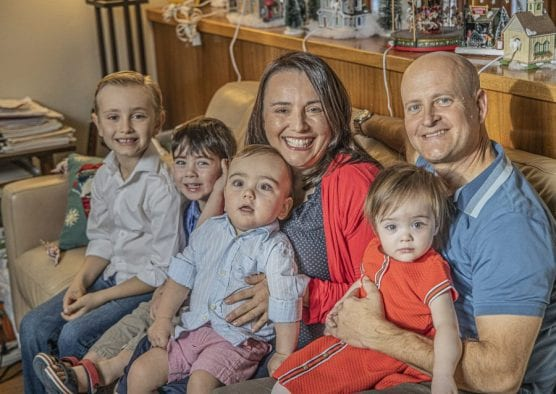 The King Family is planning a benefit concert for their son Abram who was diagnosed with Cerebral Palsy. | Photo December 21, 2019, by Bobby Block / The Signal.