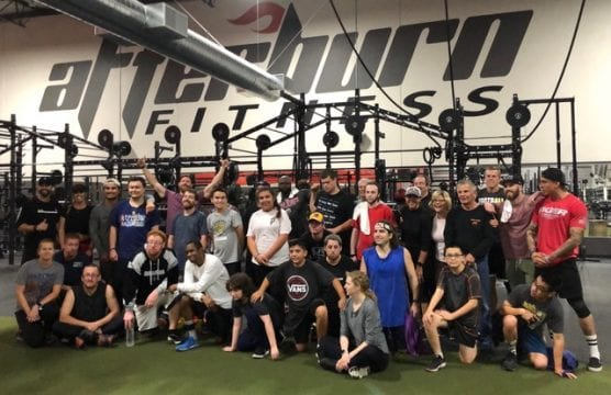 snap sports - afterburn fitness team for special needs hockey athletes training