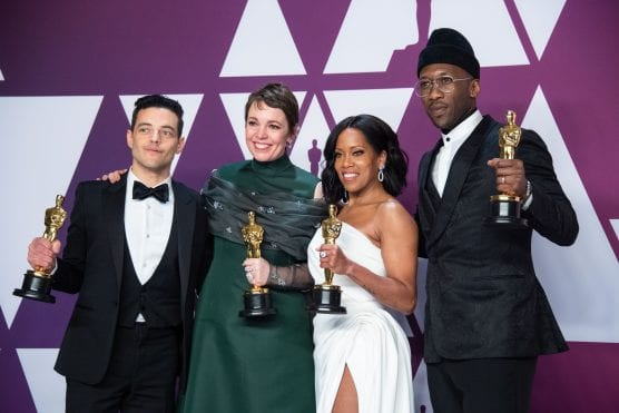 oscars - Oscar winners Mahershala Ali, Olivia Colman, Regina King and Rami Malek will present at the 92nd Oscars, show producers Lynette Howell Taylor and Stephanie Allain have announced. All return to the Oscars stage after winning last year in their respective acting categories. The Oscars will air live Sunday, February 9, on the ABC. | Photo: Mike Baker / ©A.M.P.A.S.