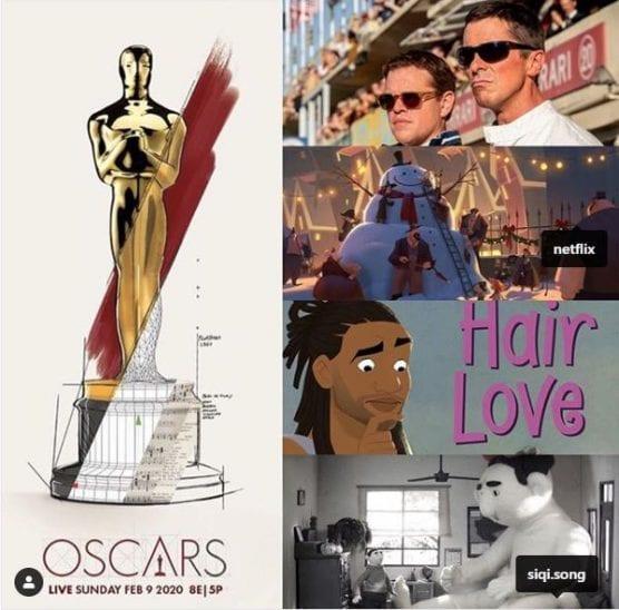 calarts nominations - 92nd oscars