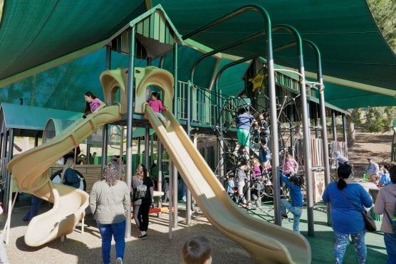 inclusive play area