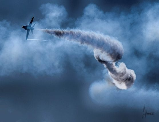 flight art exhibit