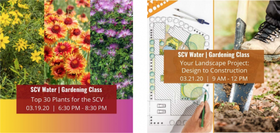 SCV Water's Spring Gardening Classes