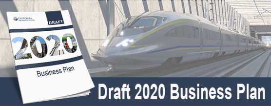 2020 draft business plan - high speed rail