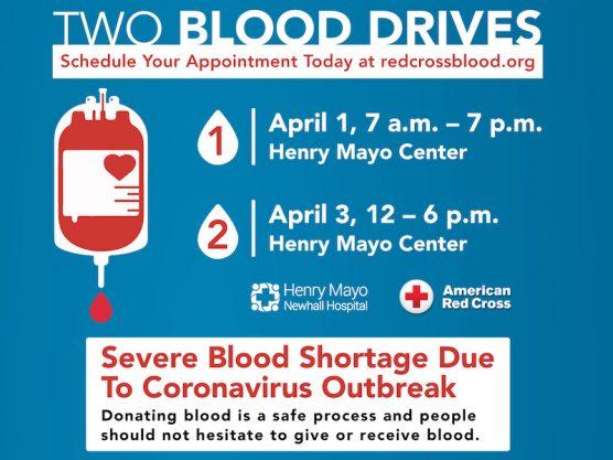 Henry Mayo Blood Drive