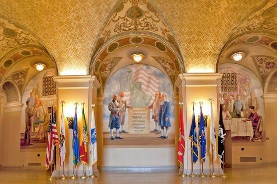 veterans affairs - Bob Hope Patriotic Hall interior in Downtown Los Angeles. | Photo: Military & Veterans Affairs.
