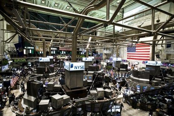 stock market - New York Stock Exchange.