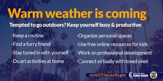 COVID-19/Warm Weather