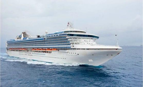 no sail order - princess cruises grand princess