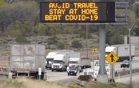 Semi Trucks on Interstate 5