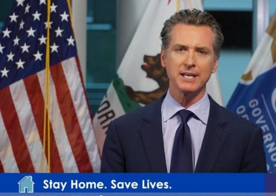 California Governor Gavin Newsom updates residents on the COVID-19 pandemic.