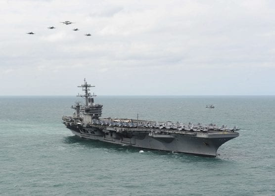 us nany aircraft carrier Theodore Roosevelt