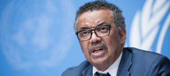 who - Tedros Adhanom Ghebreyesus, Director-General, World Health Organisation (WHO) speaks at a press conference at the UN Office in Geneva. UN File Photo: Elma Okic.