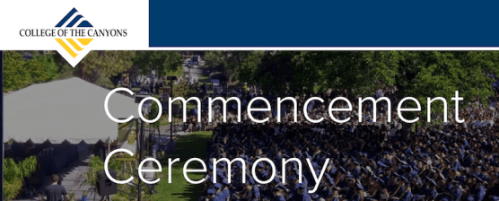 COC Virtual Commencement Ceremony