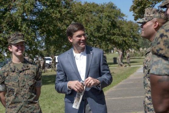 Secretary of Defense Dr. Mark T. Esper