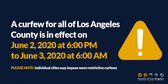 Los Angeles County Curfew