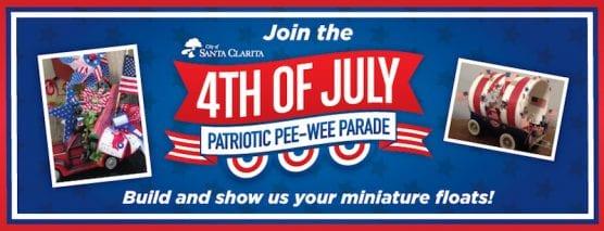 Patriotic PeeWee Floats