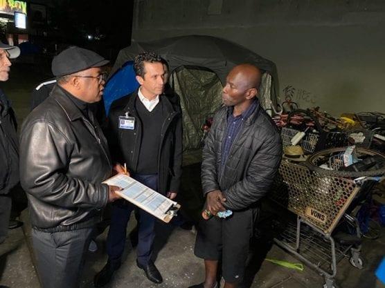 Supervisor Mark Ridley-Thomas/LA County Homeless