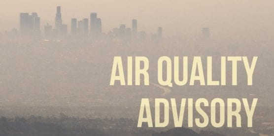 saturday scv air quality