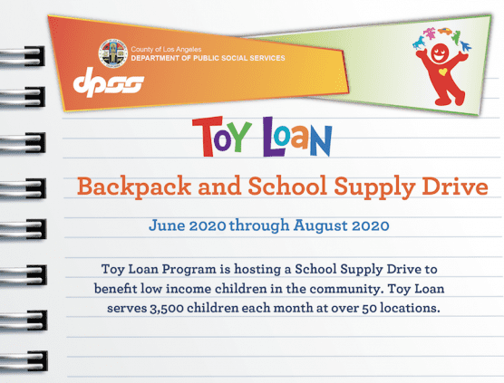 L.A. County Backpack & School Supply Drive