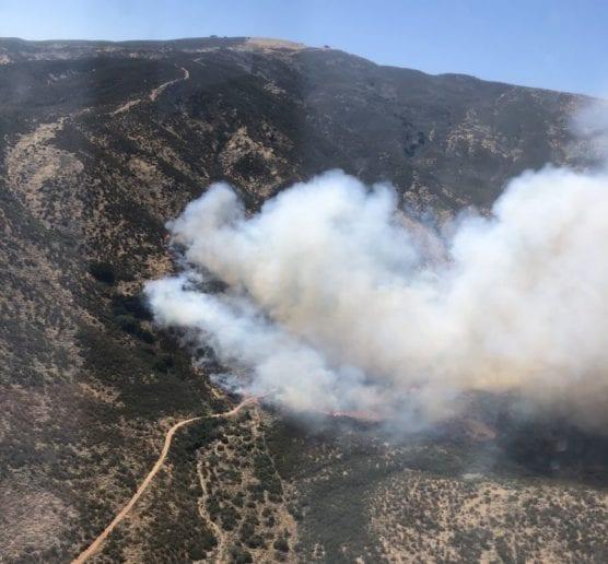 rowherIC brush fire july 1 2020