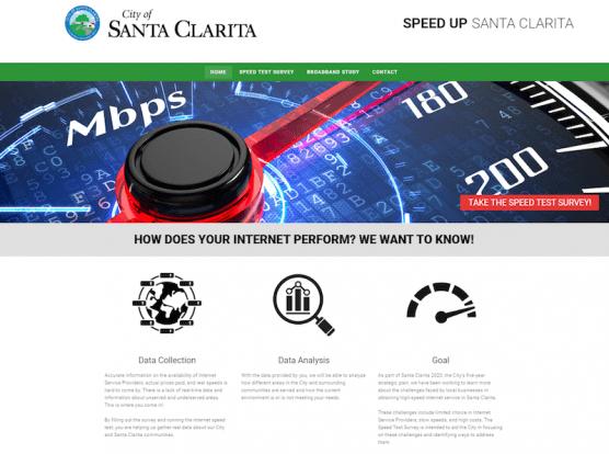 Speed Up Santa Clarita