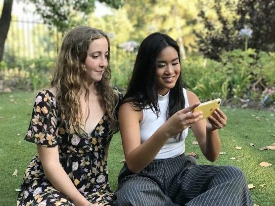 Brooke Johnston and Shaira Busnawi