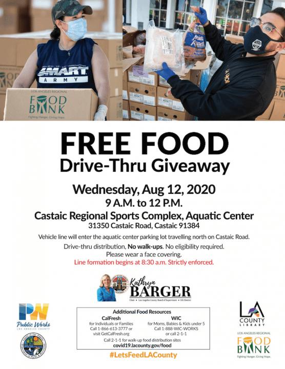 Food Drive Giveaway