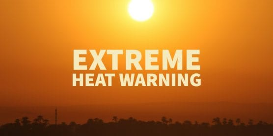 extreme heat warning