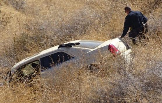 Car Plunges Off I5