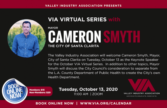 VIA Virtual Series with Cameron Smyth