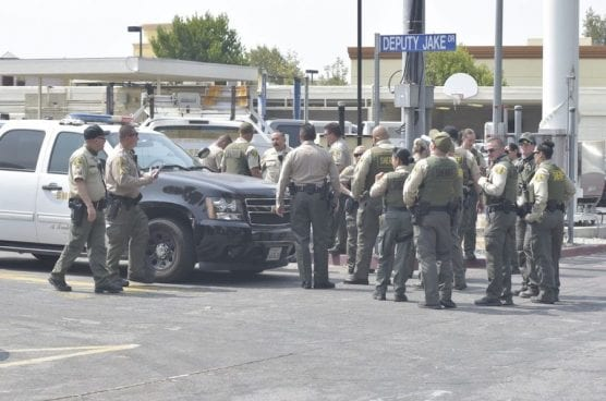 SCV Sheriff's Deputies Head Out to Assist with Bobcat Fire
