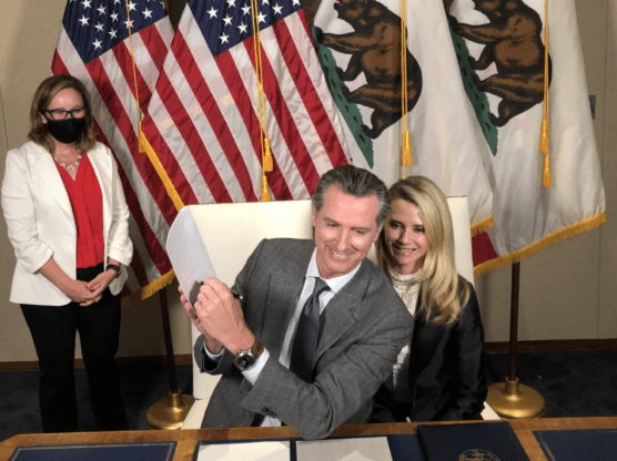 Paid Family Leave Signing