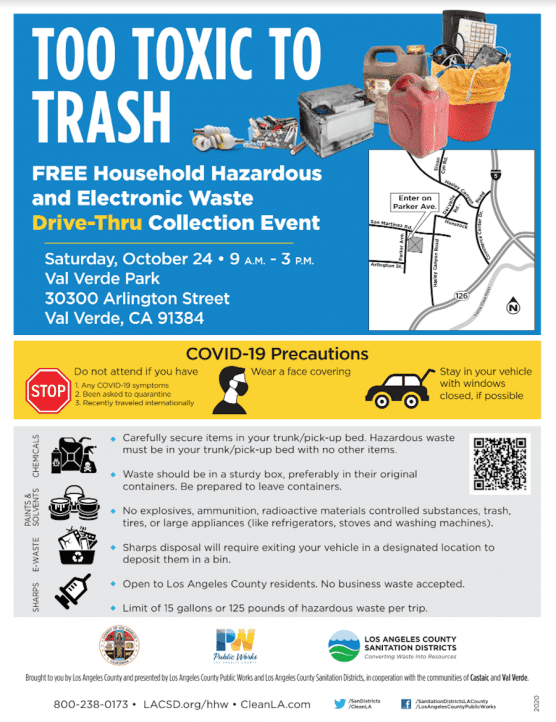 Househould Hazardous Waste Collection Event
